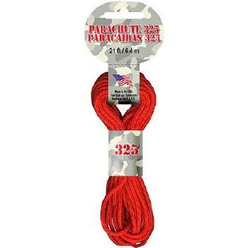 Parachute Cord 3mm x 21ft- Orange