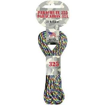 Parachute Cord 3mm x 21ft- Rainbow