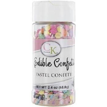 Confetti Sprinkles, 2.4oz- Pastels