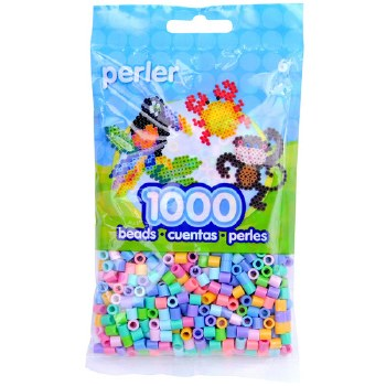 Perler Beads 1000 piece- Pastel Mix