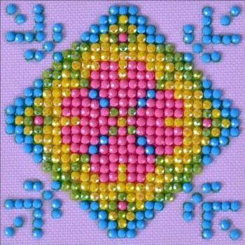 Diamond Facet Art Starter Kit- Patchwork Mandala 2