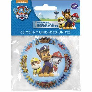 Baking Cups, Liscensed 50ct- Paw Patrol