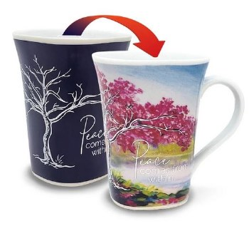 Color Changing Story Mug- Peace
