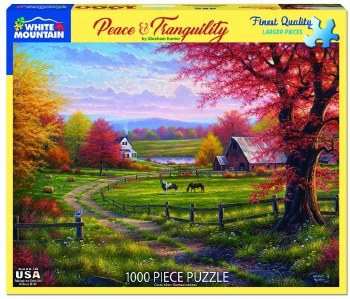 Peace & Tranquility - 1,000 Piece Puzzle