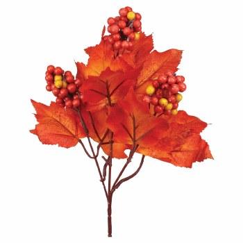 Maple Leaves & Berries Pick