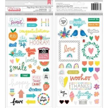 Amy Tangerine Picnic in the Park Stickers- Phrase Thickers