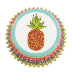 Baking Cups, 75ct- Pineapple