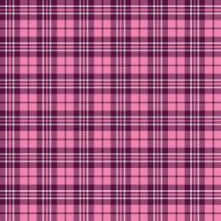 Reminisce Plaid 12x12 Paper- Pink