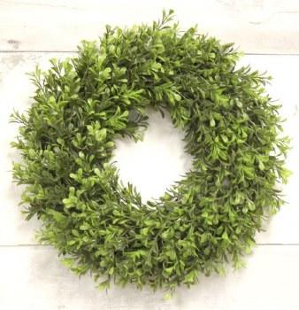 "Boxwood Wreath- 14"""