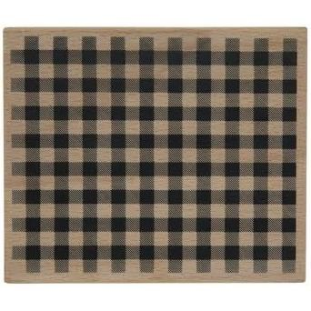 Rubber Stamp- Plaid