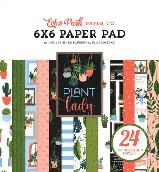Plant Lady 6x6 Paper Pad