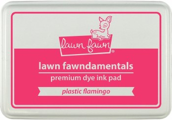 Lawn Fawn Premium Dye Ink- Plastic Flamingo