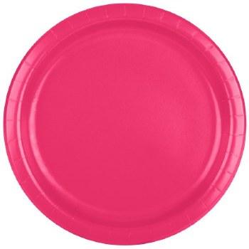 "9"" Magenta Plate - 24ct."