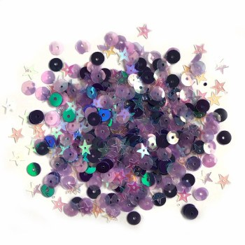 28 Lilac Lane Premium Sequins- Plum Fancy