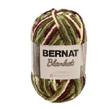 Bernat Blanket Yarn- Plum Fields