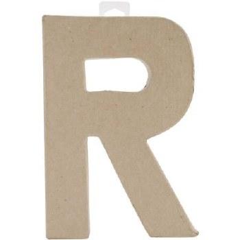 """8"""" Paper Mache Letter- R"""