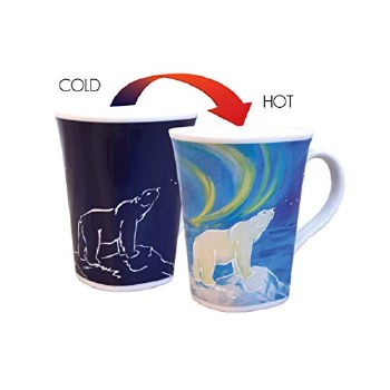 Color Changing Story Mug- Majestic Polar Bear