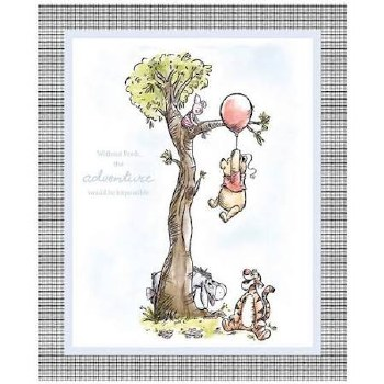 Licensed Fabric Panel- Pooh & Friends