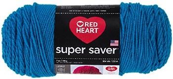 Red Heart Super Saver Yarn- Pool