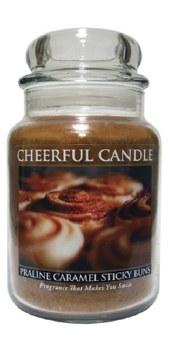 24 oz Candle- Praline Caramel Sticky Buns