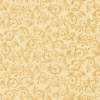 Pumpkin Harvest Bolted Fabric- Swirl, Ivory