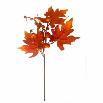 """17"""" Pumpkin Leaf Pick"""