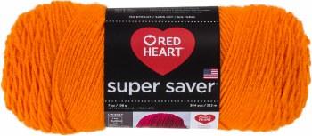 Red Heart Super Saver Yarn- Pumpkin