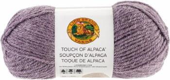 Touch of Alpaca Yarn- Purple Aster