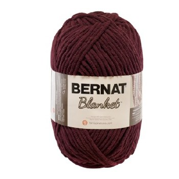 Bernat Blanket Yarn- Purple Plum