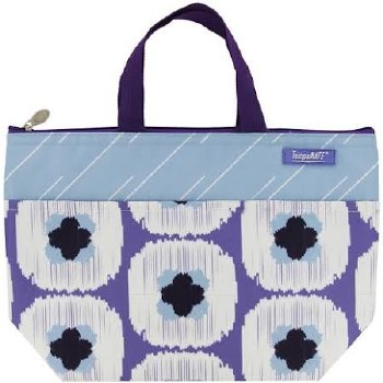 Thermal Insulated Lunch Bag- Purple Block