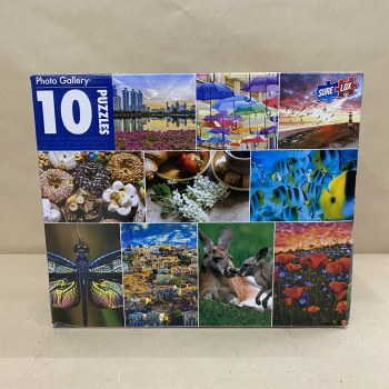 10 in 1 Puzzle- Photo Gallery
