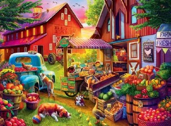 Bells Farm - 1,000 Piece Puzzle