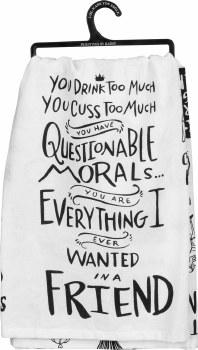 Dish Towel- Questionable Morals