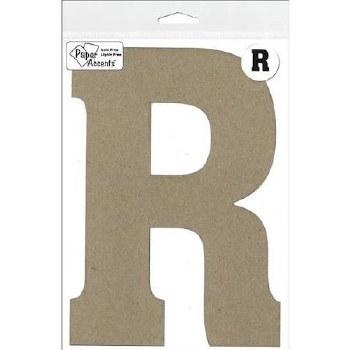 "8"" Chipboard Letter- R"