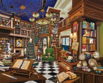 Rare Book Store - 1,000 Piece Puzzle