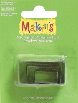 Makin's Clay Cutter - Rectangle