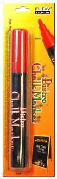 Bistro Chalk Marker, Bullet Tip- Red