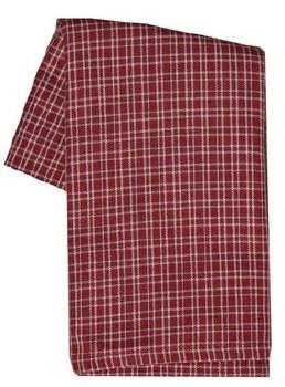 "Doublepane 20"" x 28"" Tea Towel- Red"