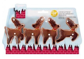 Holiday Baking- Cookie Cutters, Reindeer