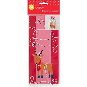 Holiday Baking- Treat Bags, Reindeer