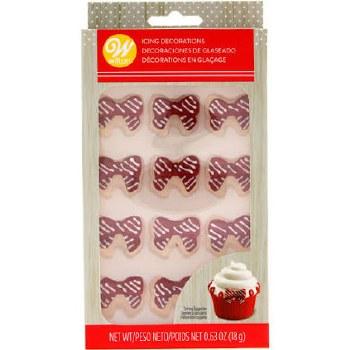 Holiday Baking- Icing Decorations, Ribbons