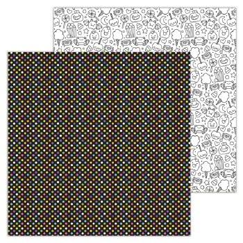 Candy Carnvial 12x12 Paper- Ring Toss