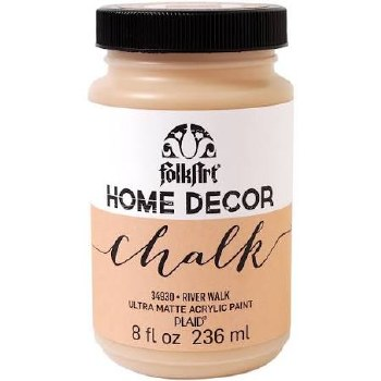 FolkArt Home Decor Chalk Paint 8 oz- River Walk