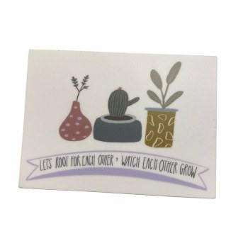 Root For Eachother Sticker