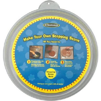 """Stepping Stone Mold- 12"""" Round"""