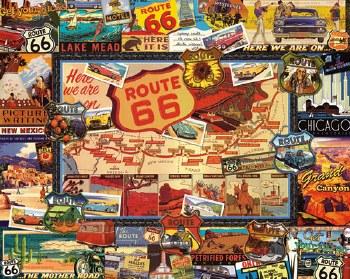 Route 66 - 1,000 Piece Puzzle
