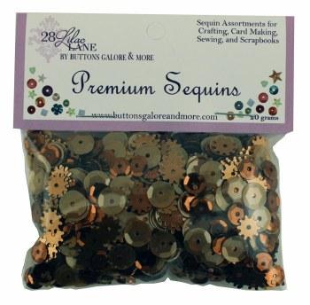28 Lilac Lane Premium Sequins- Rusty
