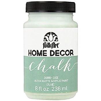 FolkArt Home Decor Chalk Paint 8 oz- Sage - Crafts Direct