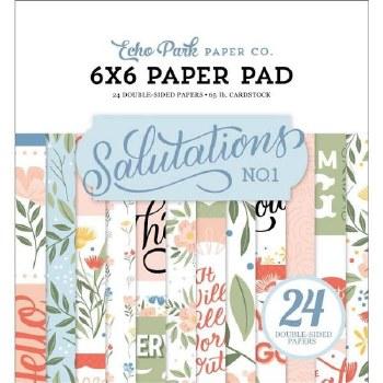 Salutations No.1 6x6 Paper Pad