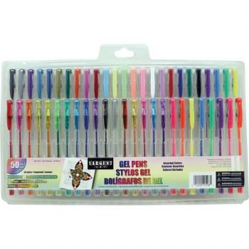 Sargent Gel Pen Set, 50pc